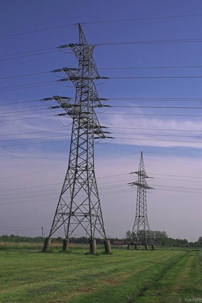 Stromverteilungsanlage - Freileitung (OKV), Petkum