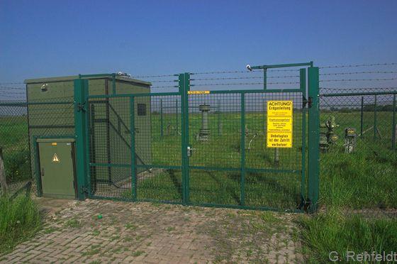 Sonstige Anlage zur Energieversorgung - Gas-Schieberstation (OKZ), Oldersum