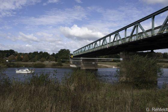 Weserbrücke (OVB), Achim