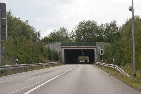 Tunnel unter Bergwiese (OVT), Braunlage