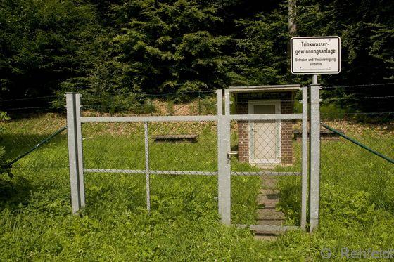 Anlage zur Wasserversorgung, Trinkwasserbrunnen (OWV), Zersen