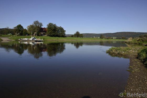 Mäßig ausgebauter Fluss des Berg- und Hügellands mit Feinsubstrat (FVL), Oberweser