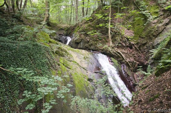 Natürlicher Wasserfall (FSN), Lonau